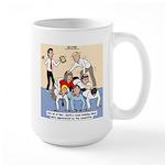 Team Building Large Mug