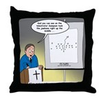 Sermon Telestrator Throw Pillow