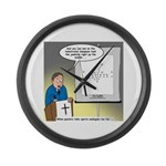 Sermon Telestrator Large Wall Clock
