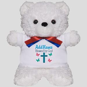 BLESSED BY GOD Teddy Bear