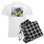 Church Drive-Thru Men's Light Pajamas