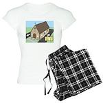 Church Drive-Thru Women's Light Pajamas