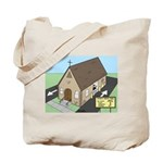 Church Drive-Thru Tote Bag