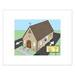 Church Drive-Thru Small Poster