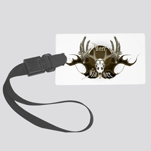 Deer slayer Large Luggage Tag