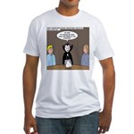 Dracula on Search Committee Fitted T-Shirt