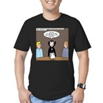Dracula on Search Committee Men's Fitted T-Shirt (