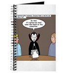Dracula on Search Committee Journal