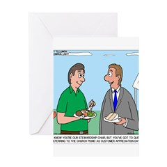 Customer Appreciation Banquet Greeting Card
