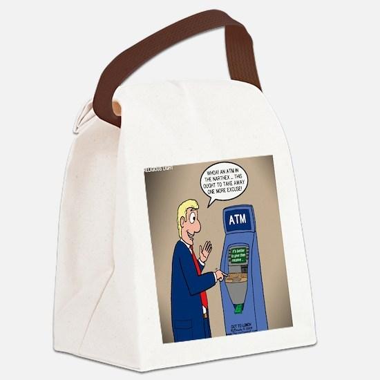 Church ATM Canvas Lunch Bag