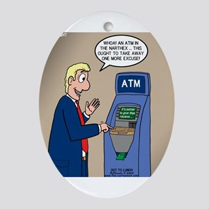 Church ATM Ornament (Oval)