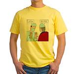 Choir Robe Scrubs Yellow T-Shirt