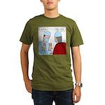 Choir Robe Scrubs Organic Men's T-Shirt (dark)