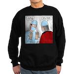 Choir Robe Scrubs Sweatshirt (dark)