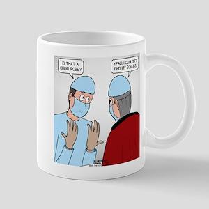 Choir Robe Scrubs Mug