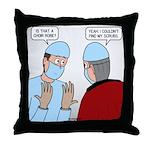 Choir Robe Scrubs Throw Pillow