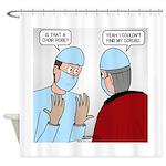 Choir Robe Scrubs Shower Curtain