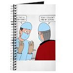 Choir Robe Scrubs Journal