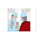 Choir Robe Scrubs Postcards (Package of 8)