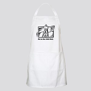 On to the 19th Hole BBQ Apron