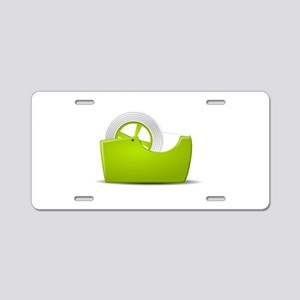 Office Tape Dispenser Aluminum License Plate