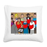 How Great Thou Arrt! Square Canvas Pillow