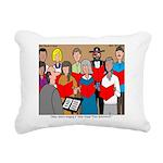 How Great Thou Arrt! Rectangular Canvas Pillow