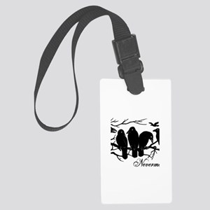 Nevermore Ravens Large Luggage Tag