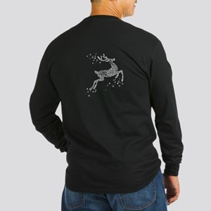 REINDEER Long Sleeve Dark T-Shirt