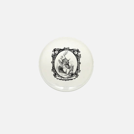 The White Rabbit Mini Button