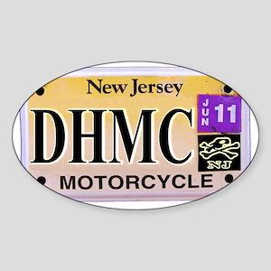 NJ-Back Sticker (Oval)