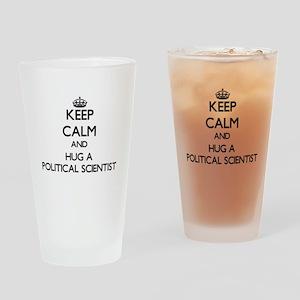 Keep Calm and Hug a Political Scientist Drinking G