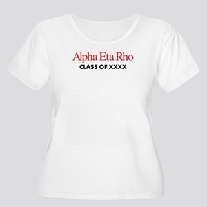 Alpha Eta Rho Women's Plus Size Scoop Neck T-Shirt
