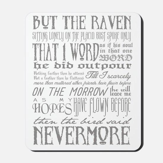 Raven Nevermore Mousepad