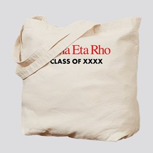 Alpha Eta Rho Class of XXXX Personalized Tote Bag