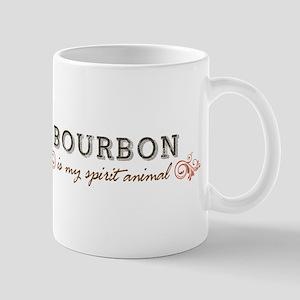 Bourbon Is My Spirit Animal Mugs