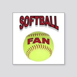 SOFTBALL FAN Sticker