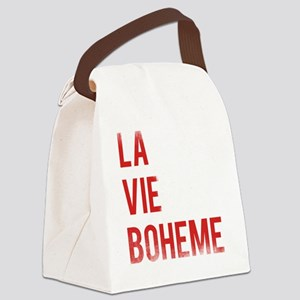La Vie Boheme Canvas Lunch Bag