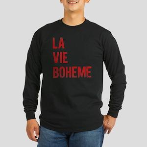 La Vie Boheme Long Sleeve Dark T-Shirt
