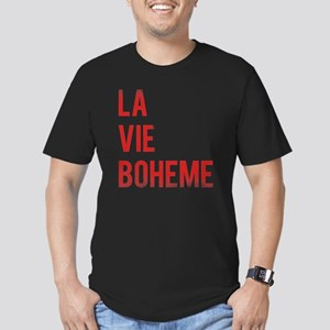 La Vie Boheme Men's Fitted T-Shirt (dark)