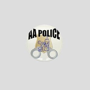 aa-police Mini Button