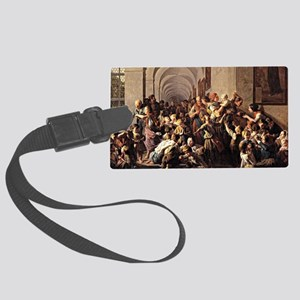 Waldmuller: The Cloister Soup Large Luggage Tag