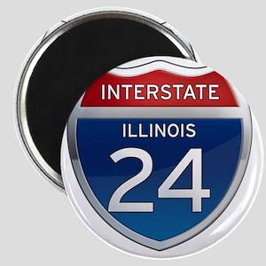 Interstate 24 - Illinois Magnet