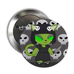 Nightmare Alien Neko Badge