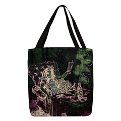 alice-absinthe2_9x12 Polyester Tote Bag