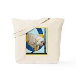 Bulldog Agility Design Tote Bag