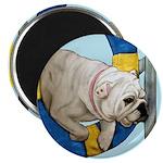Bulldog Agility Design Magnet