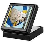 Bulldog Agility Design Keepsake Box