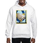 Bulldog Agility Design Hooded Sweatshirt