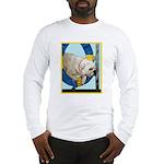 Bulldog Agility Design Long Sleeve T-Shirt
